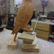 Gyr Falcon Sculpture